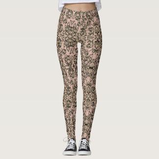 Polainas de la imagen del vintage leggings