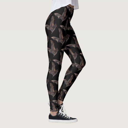 Polainas de la impresión del gótico de los palos leggings