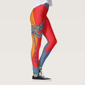 polainas de la libélula leggings