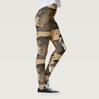 Polainas de la paloma de las mujeres leggings