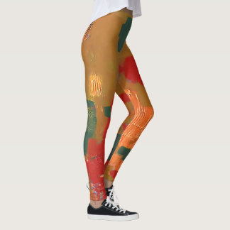 Polainas de la pintada leggings
