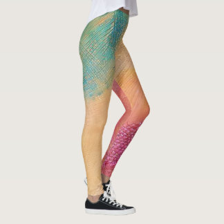 Polainas de la rueda de color leggings