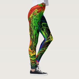 Polainas de las opciones del arte abstracto 115 leggings