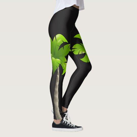 Polainas de las palmeras leggings