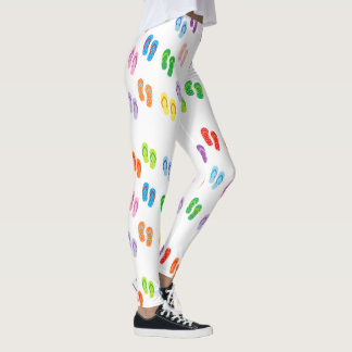 "Polainas de los ""flips-flopes"" leggings"