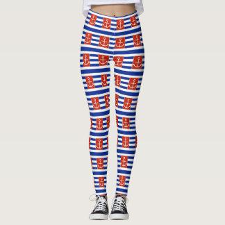 Polainas del ancla leggings