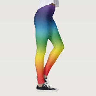 Polainas del arco iris de Chakra Leggings