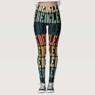 Polainas del beagle del vintage leggings