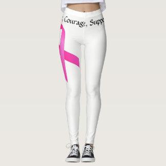 Polainas del cáncer de pecho leggings