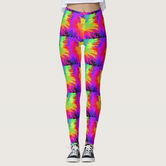 POLAINAS DEL CHAPOTEO DEL COLOR LEGGINGS