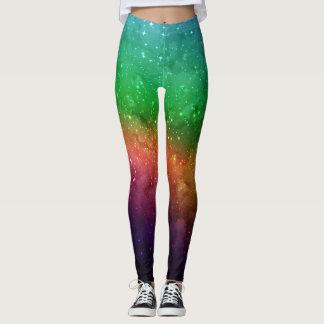 Polainas del espacio exterior y de la galaxia leggings