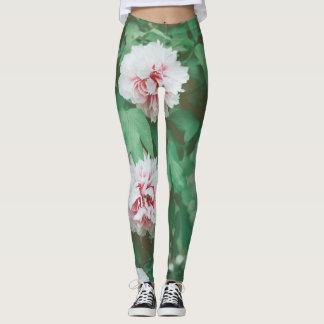 Polainas del vintage de la flor leggings
