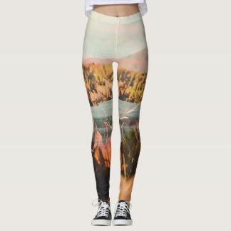Polainas elegantes de la caída del otoño leggings