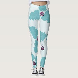 Polainas en hoja soñolienta leggings