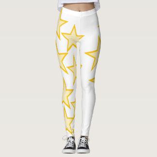 Polainas estupendas de la estrella leggings