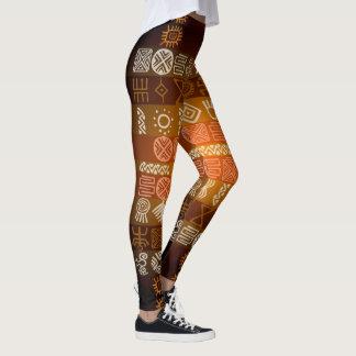 Polainas geométricas tribales del modelo de Tatoo Leggings