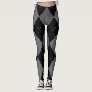 polainas modeladas argyle leggings