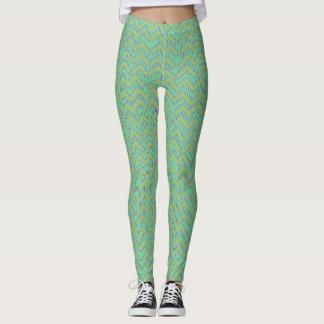 Polainas verdes del bosque leggings