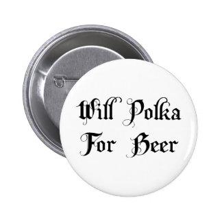 Polca para la cerveza pins