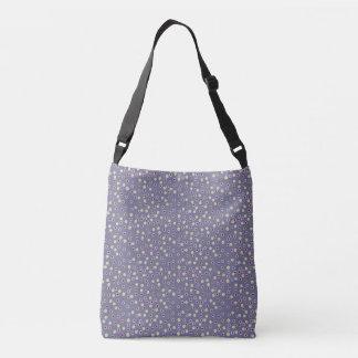 Polca púrpura bolso cruzado