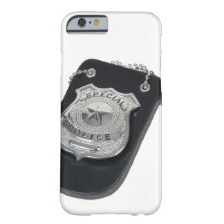 PoliceBadgeGavel090912.png Funda Para iPhone 6 Barely There