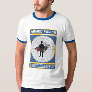 POLICÍA ARMADA CAMISETAS