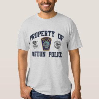Policía de Boston Camisetas