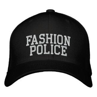 Policía de la moda gorras bordadas
