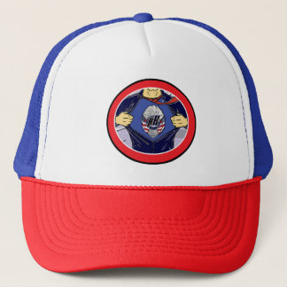 policía del gorra del camionero de los héroes de