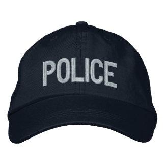POLICÍA GORRAS BORDADAS