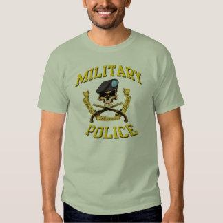 Policía militar camisetas