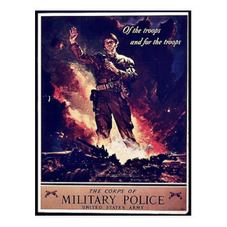 Policía militar postal