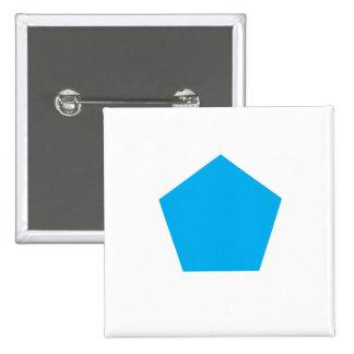 Polígono azul chapa cuadrada