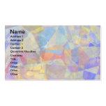 Polígonos abstractos 36 tarjetas de visita