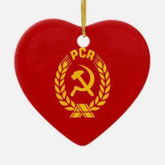 Polimerización en cadena, bandera de Rumania Ornamento De Reyes Magos