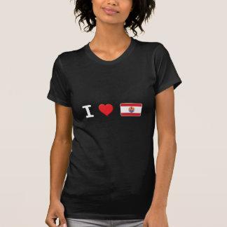 Polinesia francesa W micro Camisetas
