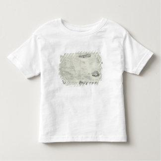 Polinesia o islas en el Océano Pacífico, de a Camisetas