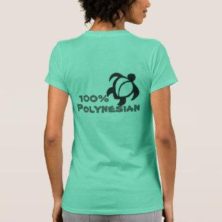 Polinesio del 100% camisetas