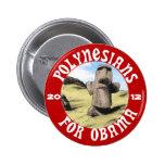 Polinesios para Obama Pin