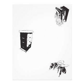 Polinización de la abeja folleto 21,6 x 28 cm