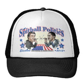 Política 2012 de la bolita de papel mascado gorro
