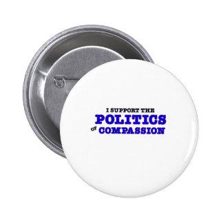 Política de la compasión pin