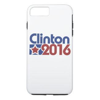 Política de la estrella de Clinton 2016 Funda iPhone 7 Plus