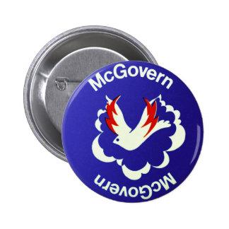 Política McGovern del vintage para presidente Chapa Redonda 5 Cm