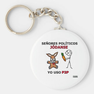 Políticos del EL P2P y los… Llaveros Personalizados