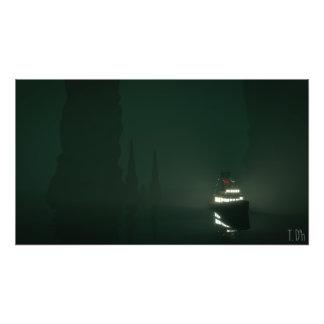 Polivinílico bajo - mar sombrío impresiones fotográficas