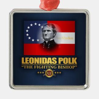 Polk (patriota meridional) adorno de cerámica