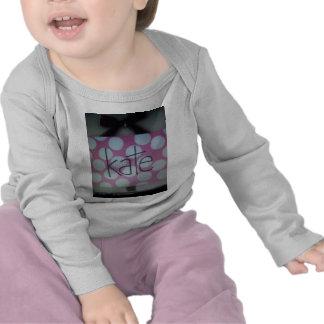 polk rosado y blanco una muestra del punto camiseta
