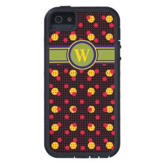 polkadots para añadir la letra inicial iPhone 5 Case-Mate funda