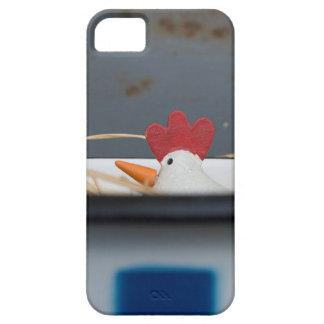 Pollo en un cuenco a cuadros funda para iPhone SE/5/5s